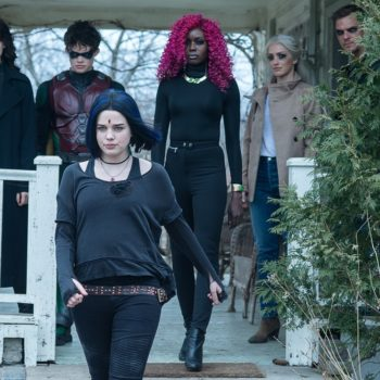Dove, Donna Troy, Starfire, and Jason Todd under Trigon's control in new season 2 photos for Titans