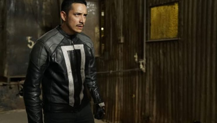 Gabriel Luna as Robbie Reyes in Agents of SHIELD