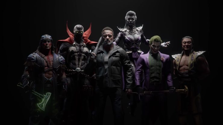 New Mortal Kombat 11 Kombat Pack Reveal Trailer with the T-800, Joker, Sindel, Spawl, Shang Tsung, and Wolfknight