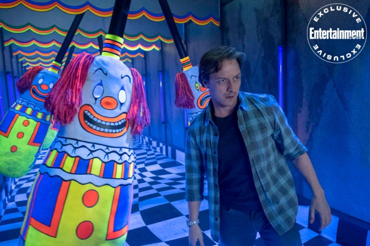 James McAvoy in the New Photos from IT Chapter Two