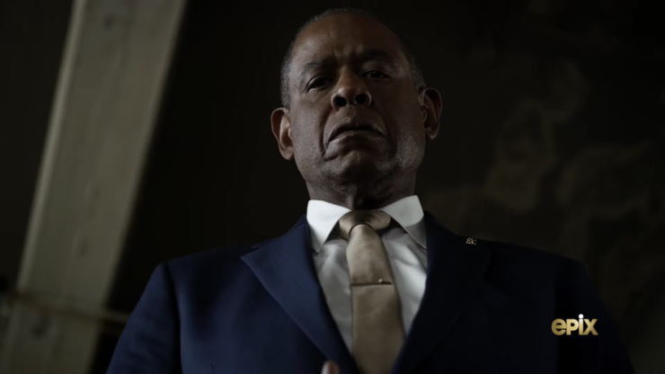 Forest Whitaker in the Godfather of Harlem EPIX series