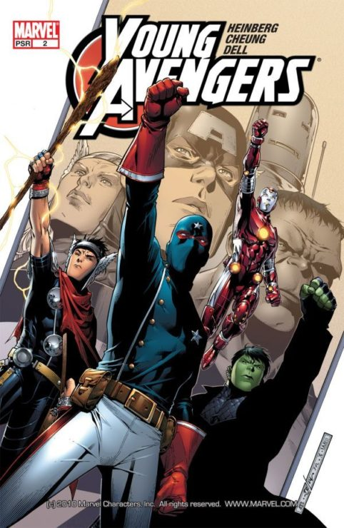 Marvel Characters Who Deserve a Film- Young Avengers