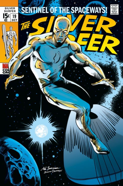 Marvel Characters Who Deserve a Film- Silver Surfer
