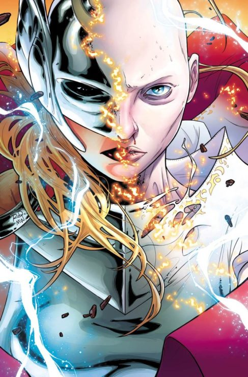 Jane Foster and Thor dual identity