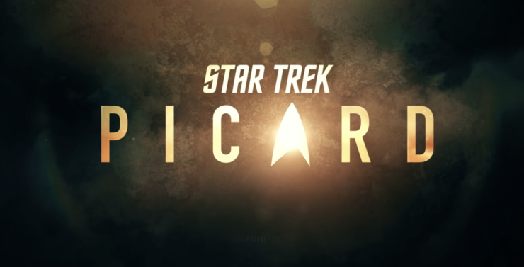 Star Trek Picard Title Card