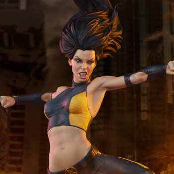 X-23 Premium Format Figure With her claws extended ready to pounce