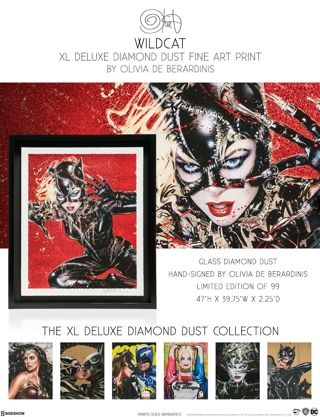 Wildcat XL Deluxe Diamond Dust Fine Art Print | Sideshow