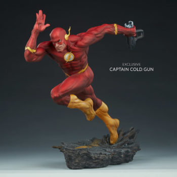 The Flash Premium Format™ Figure Exclusive Edition with Captain Cold Gun