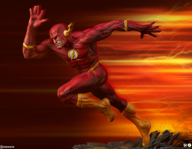 The Flash Premium Format™ Figure Brings Your DC Comics Collection Up to Speed