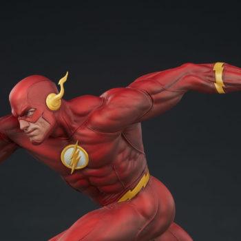 The Flash Premium Format™ Figure Upper Body View Facing Left