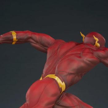 The Flash Premium Format™ Figure Upper Body Close Up Facing Left