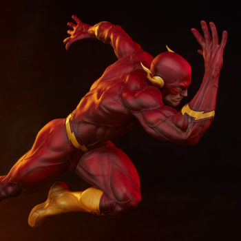 The Flash Premium Format™ Figure with Dramatic Red Lighting 2