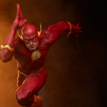 The Flash Premium Format™ Figure Front-View of Statue