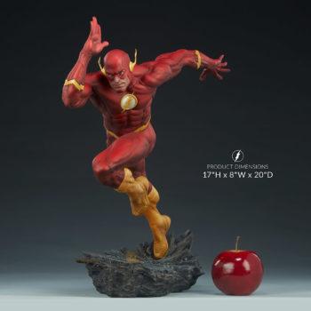 """The Flash Premium Format™ Figure Measurements 17"""" H x 8"""" W x 20"""" D"""