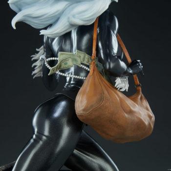 Black Cat Statue- Mark Brooks Artist Series Money Bag with Jewels