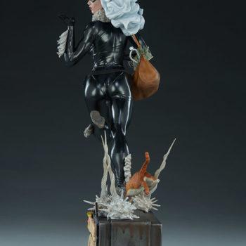 Black Cat Statue- Mark Brooks Artist Series Open Lit Turnaround 3
