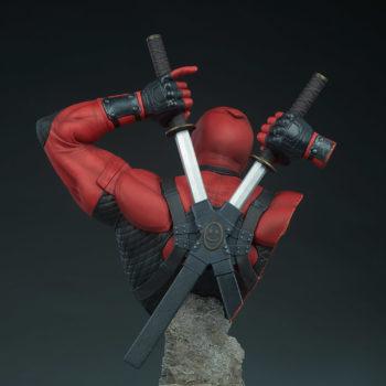 Deadpool Bust Back of Figure Detail 1