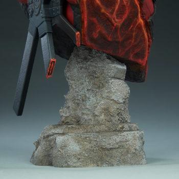 Deadpool Bust Stone Pillar-like Base