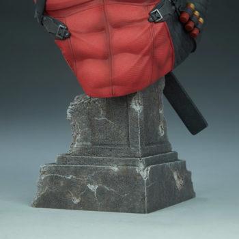 Deadpool Bust Base Detail Shot 2