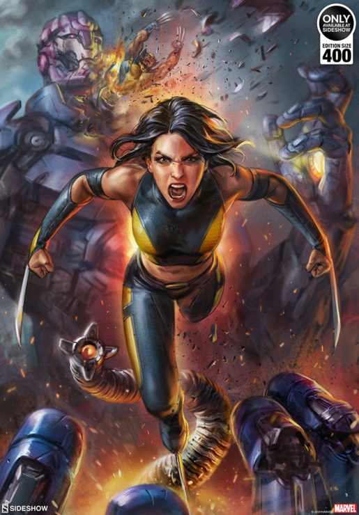 X-23 Fine Art Print by Ian MacDonald