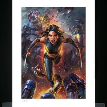 X-23 Fine Art Print by Ian MacDonald Unframed