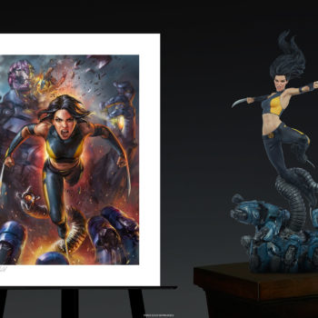 X-23 Fine Art Print by Ian MacDonald Unframed Edition with Premium Format™ Figure