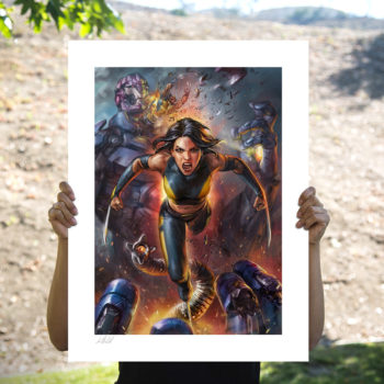 X-23 Fine Art Print by Ian MacDonald Unframed Edition in Open Lighting