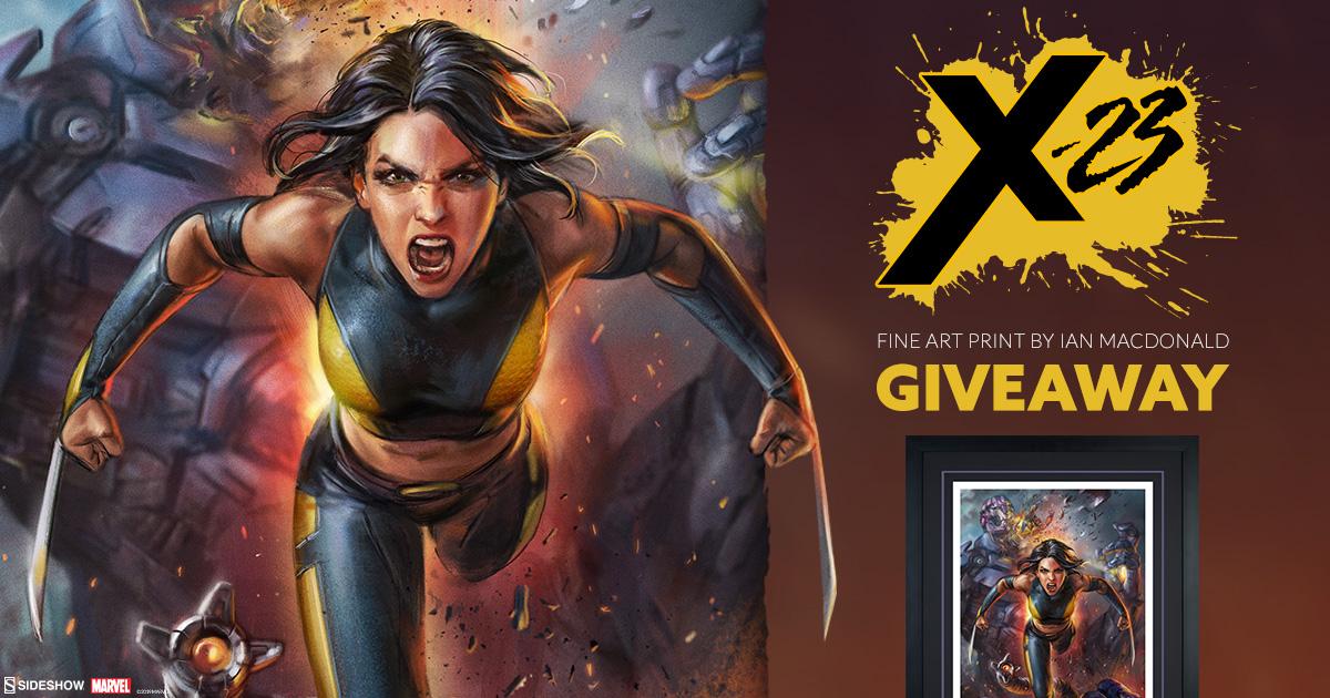 X-23 Fine Art Print Giveaway