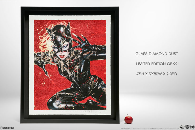 Wildcat XL Deluxe Diamond Dust Fine Art Print, Limited Edition 99