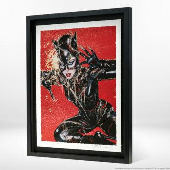 Wildcat XL Deluxe Diamond Dust Fine Art Print Black Framed Tiled View
