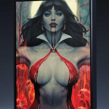 Vampirella #2 Gallery Wrapped Canvas by Stanley 'Artgerm' Lau
