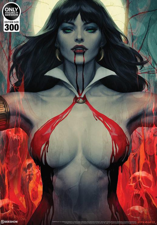 Vampirella #2 Fine Art Print by Stanley 'Artgerm' Lau