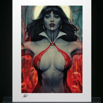 Vampirella #2 Fine Art Print by Stanley 'Artgerm' Lau Unframed Edition