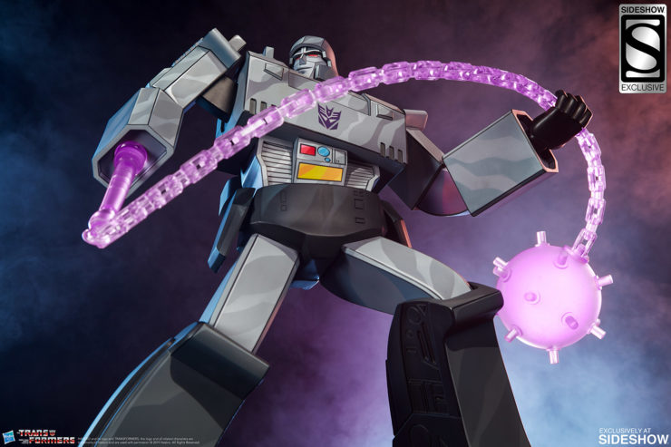Megatron G1 Museum Scale Statue Exclusive Edition with Energon Mace 3