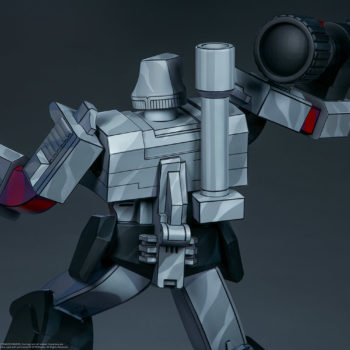 Megatron G1 Museum Scale Statue Back View of Statue