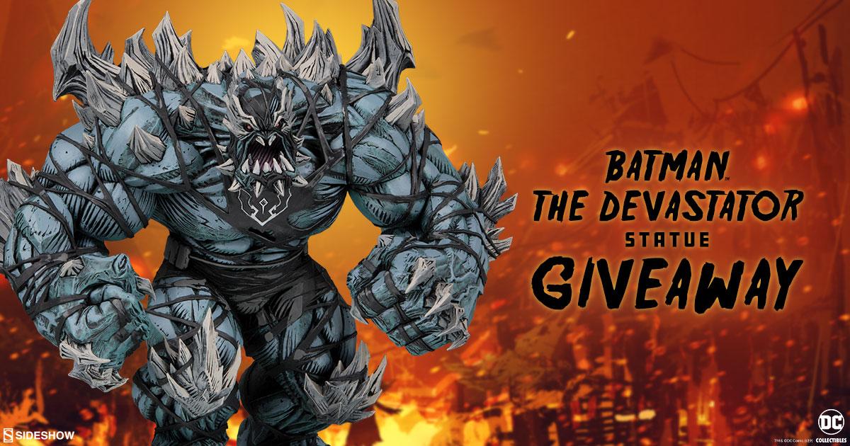 DC Collectibles Batman The Devastator Statue Giveaway
