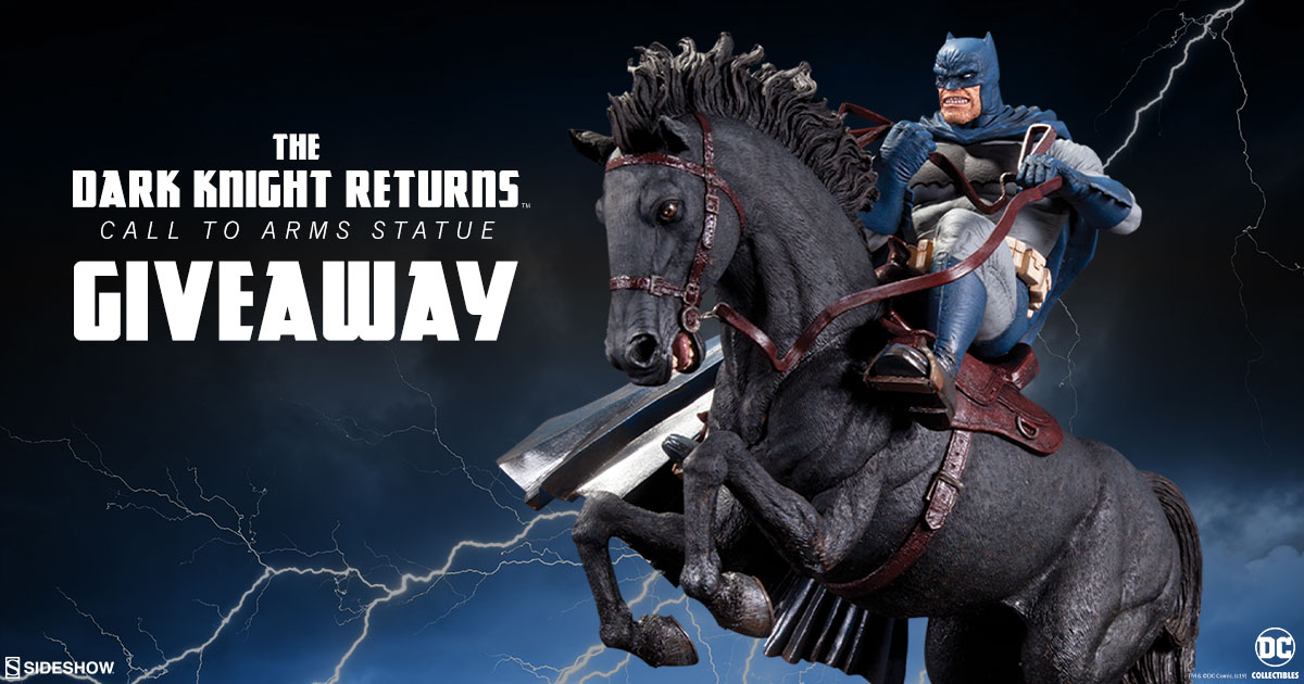 DC Collectibles The Dark Knight Returns Call to Arms Statue Giveaway!