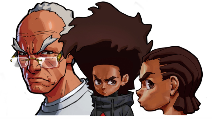 New design for Huey and Riley for the Boondocks reboot