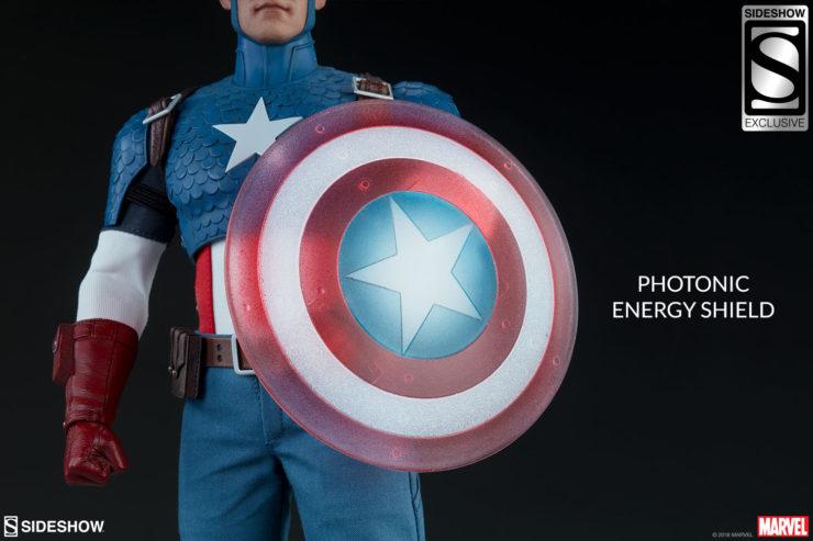 Captain America photonic energy shield