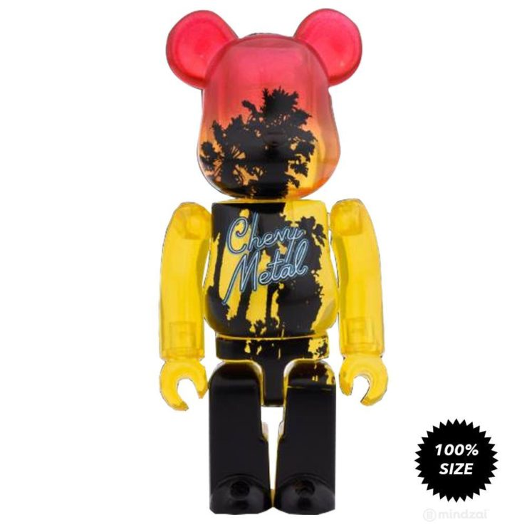 Chevy Metal D-Con Exclusive 100% Bearbrick by Medicom Toy