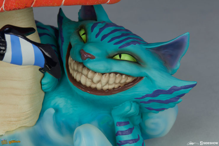 The Curious Creation of the Cheshire Cat