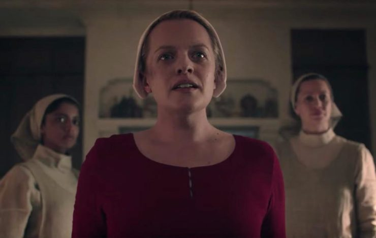 Offred in The Handmaid's Tale