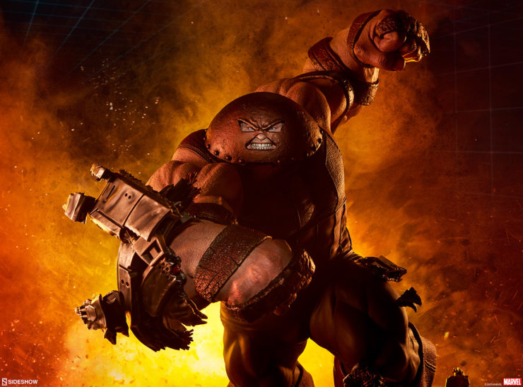 The Juggernaut Maquette Decimates the X-Men Mansion in the New Production Photos