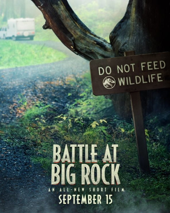 Jurassic Park Battle at Big Rock Short Film Poster