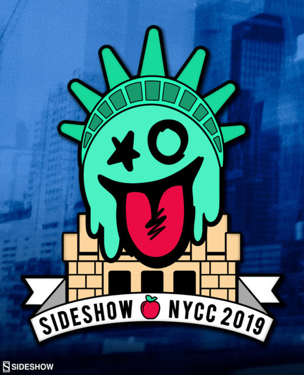 Exclusive Pin from Sideshow at New York Comic-Con 2019!
