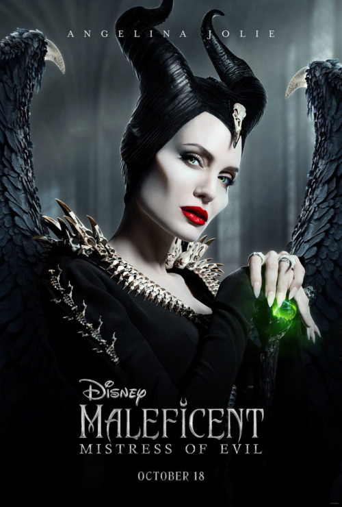 New Maleficent Mistress of Evil Poster featuring Maleficent