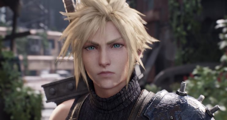Cloud in the New trailer for Final Fantasy VII Remake