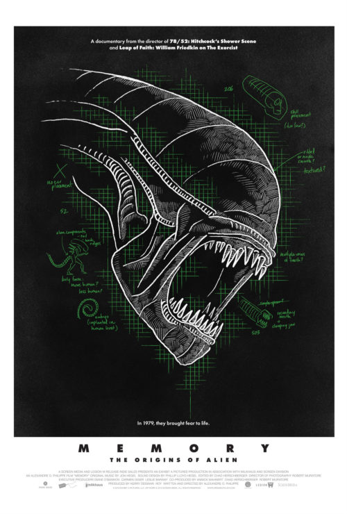 The Making of Alien Documentary Poster