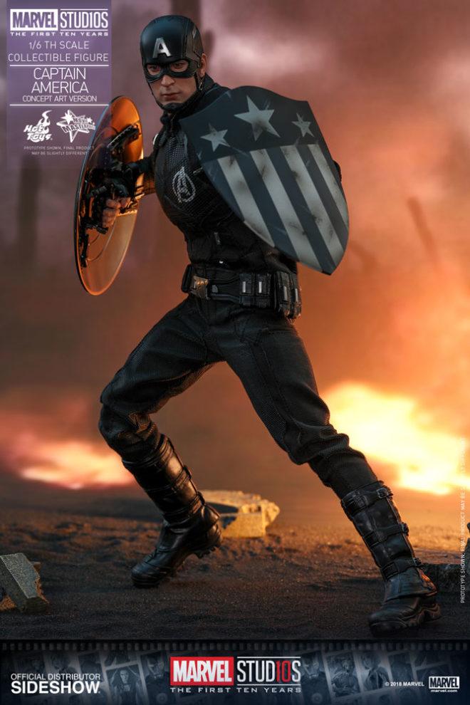 captain america heater shield