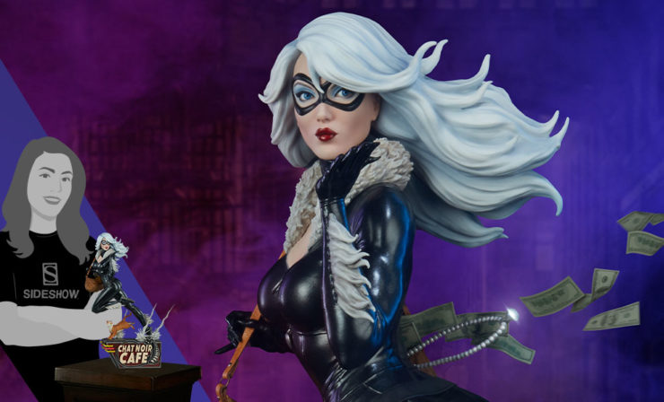 The Mark Brooks Artist Series Black Cat Statue Crosses Paths with Your Spider-Man Collectibles